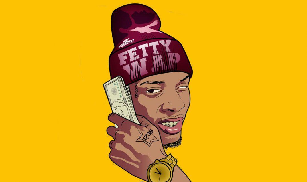 Top 6 Greatest Song Lyrics Of All Time - Fetty Wap Kartun - HD Wallpaper