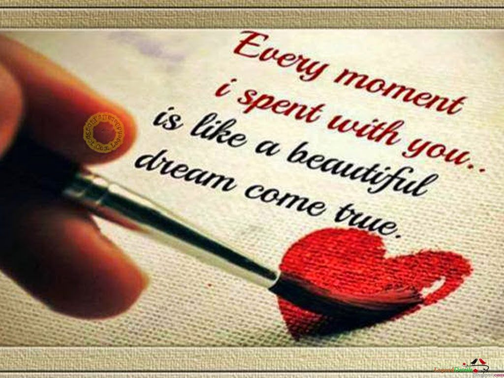 Cute Heart Wallpapers With Quotes Cute Love Quotes - Cute Images Of Lovers With Quotes - HD Wallpaper