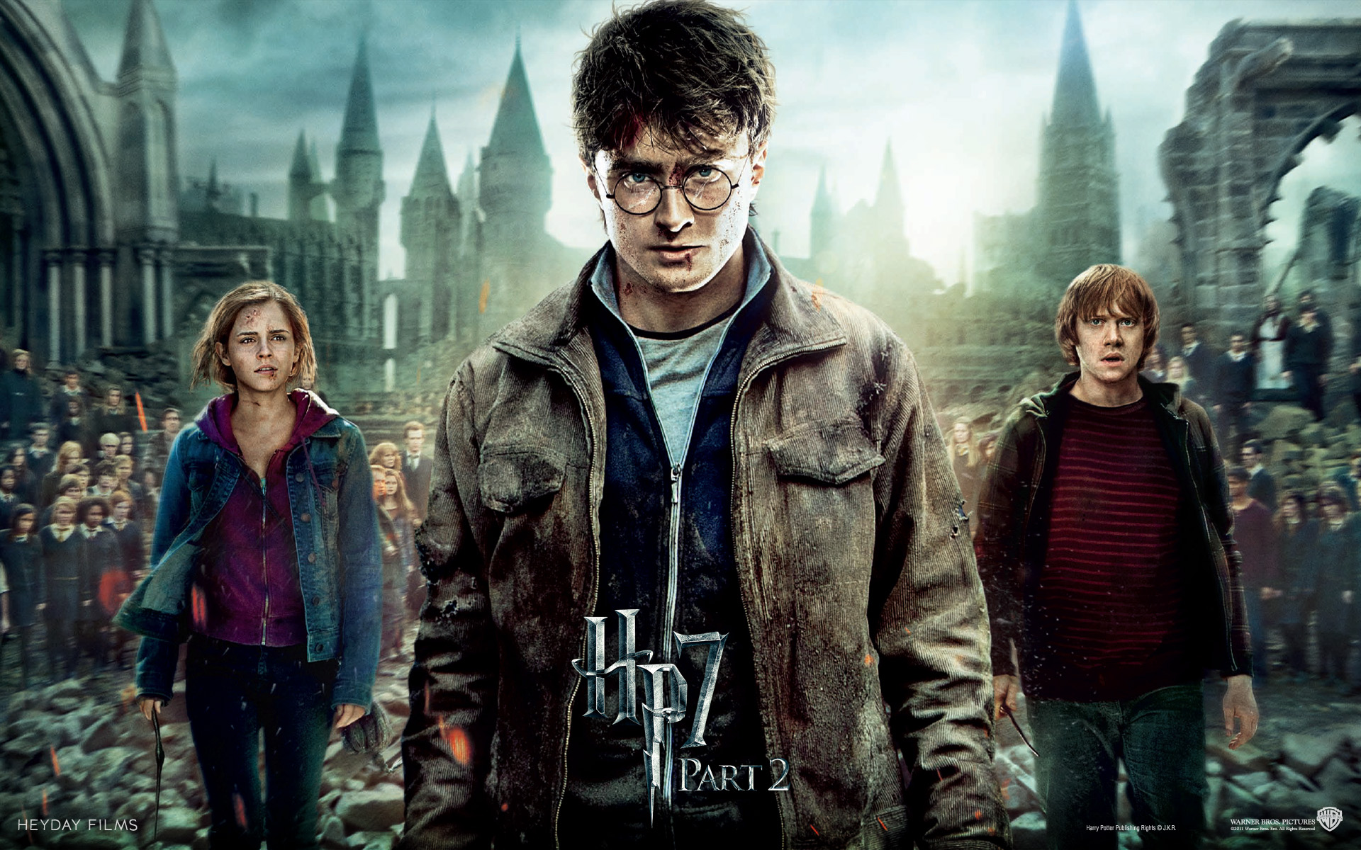 Harry Potter And The Deathly Hallows Wallpaper Hero - Harry Potter And The Deathly Hallows Part 2 Wallpaper - HD Wallpaper
