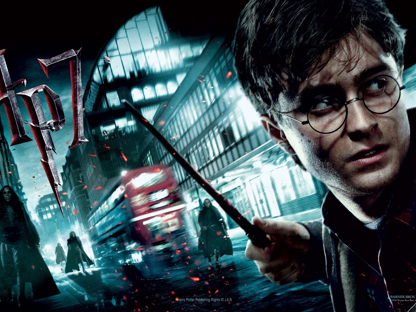 Harry Potter And The Deathly Hallows Part 8 - HD Wallpaper
