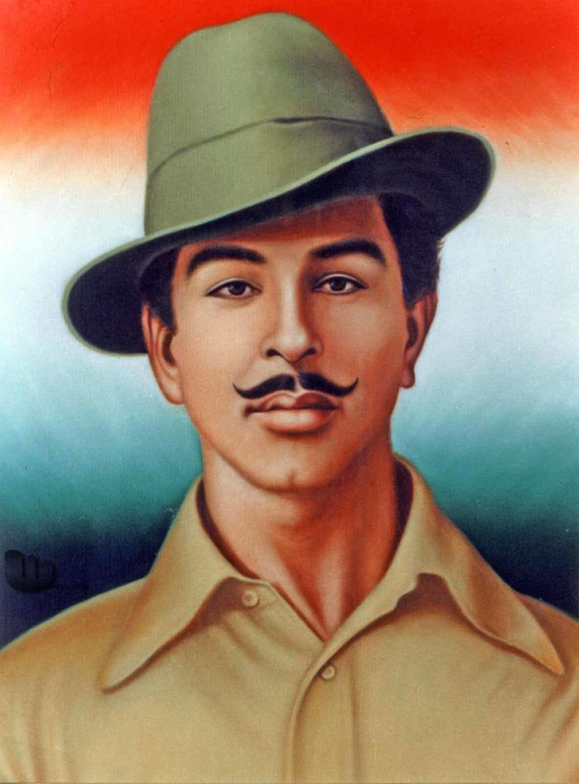 Bhagat Singh Wallpaper Hd With Gun