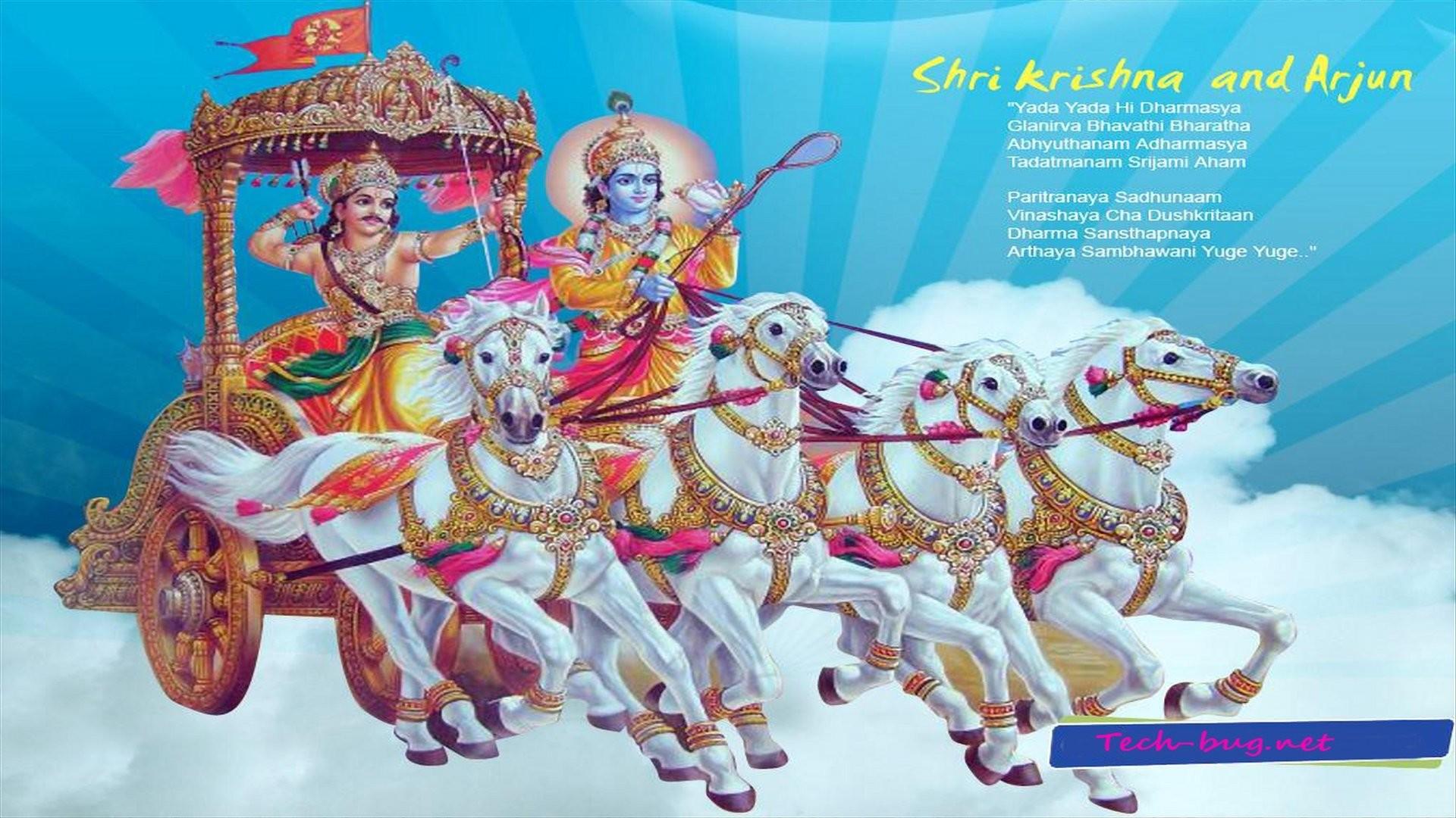Hd Wallpaper Lord Krishna - HD Wallpaper