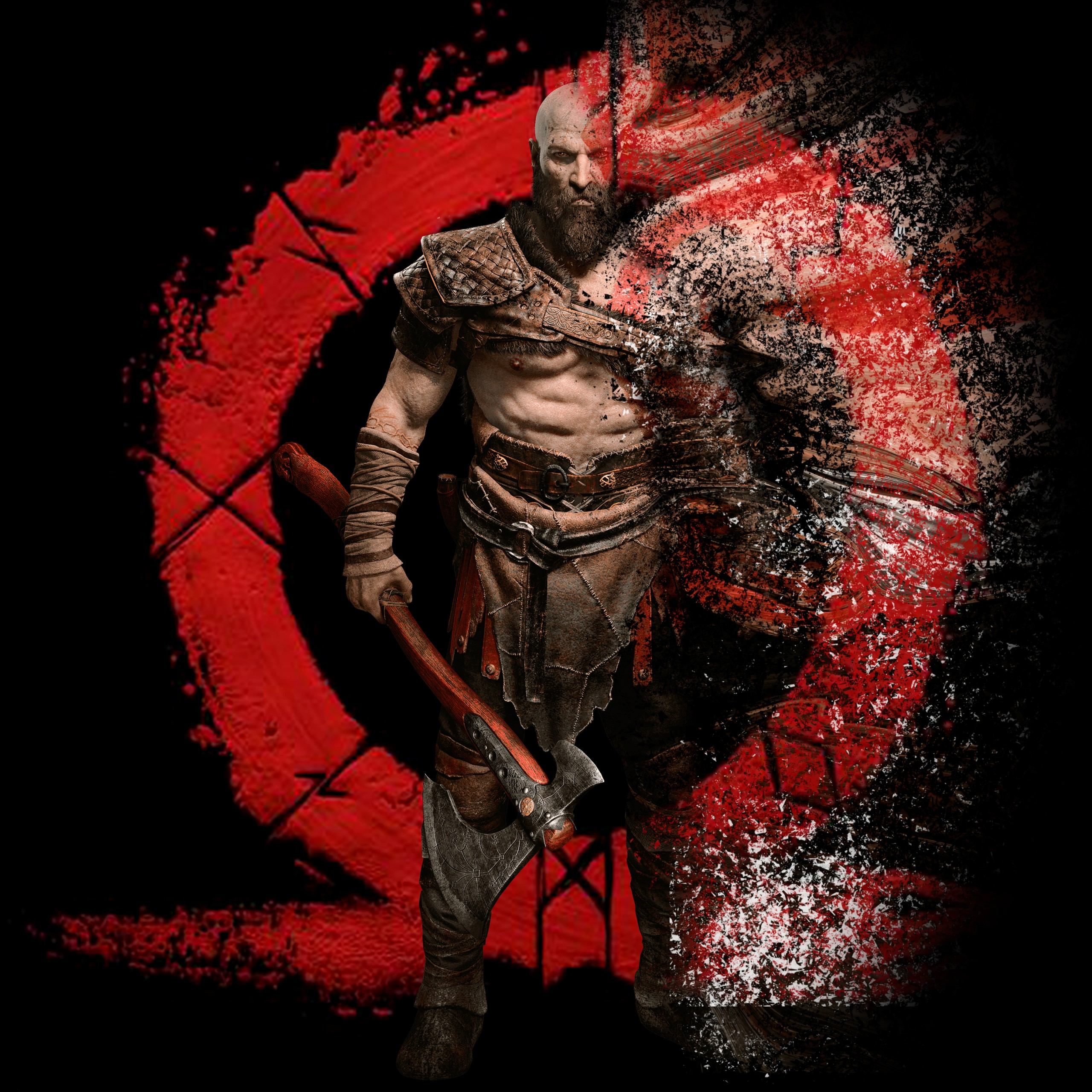 God Of War 4k - HD Wallpaper