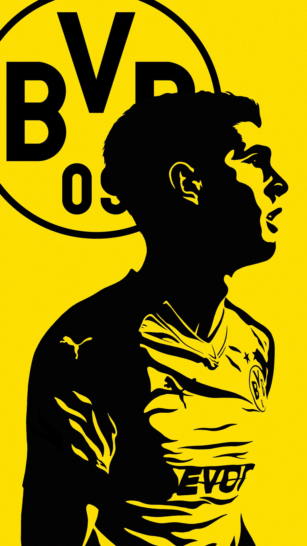 Borussia Dortmund Wallpaper Android 1688x3000 Wallpaper Teahub Io