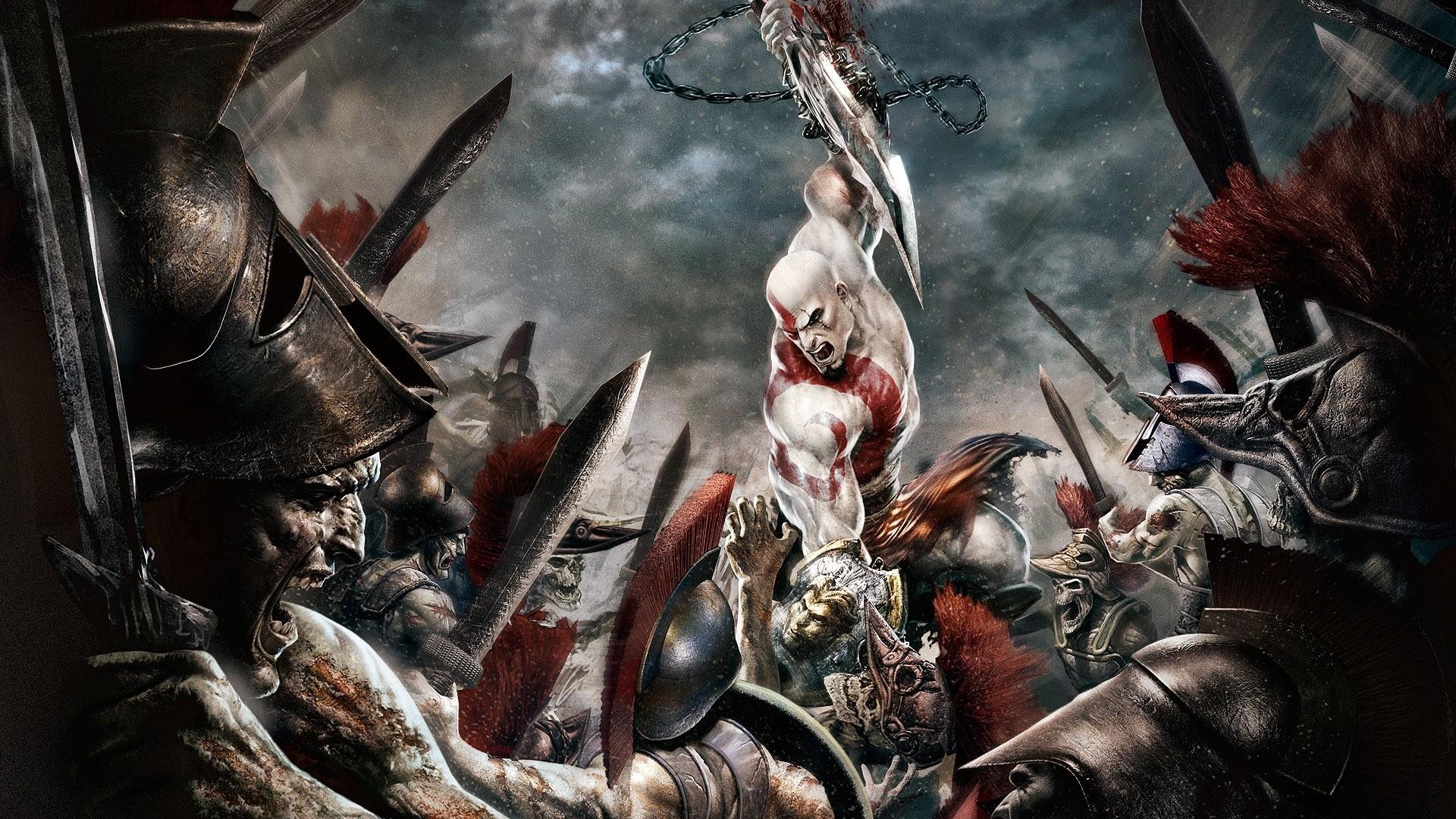 God Of War Hd Wallpapers Backgrounds Wallpaper Kratos God Of War 1 1920x1080 Wallpaper Teahub Io