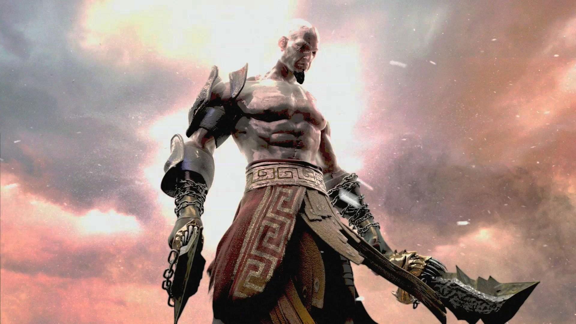 Kratos God Of War 3 447075   Data Src God Of War 3 - Kratos Wallpaper God Of War - HD Wallpaper