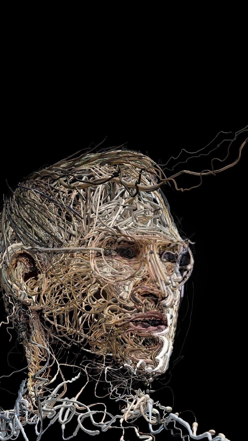 Wallpaper Steve Jobs, Wires, Memory, Computer - Steve Jobs - HD Wallpaper
