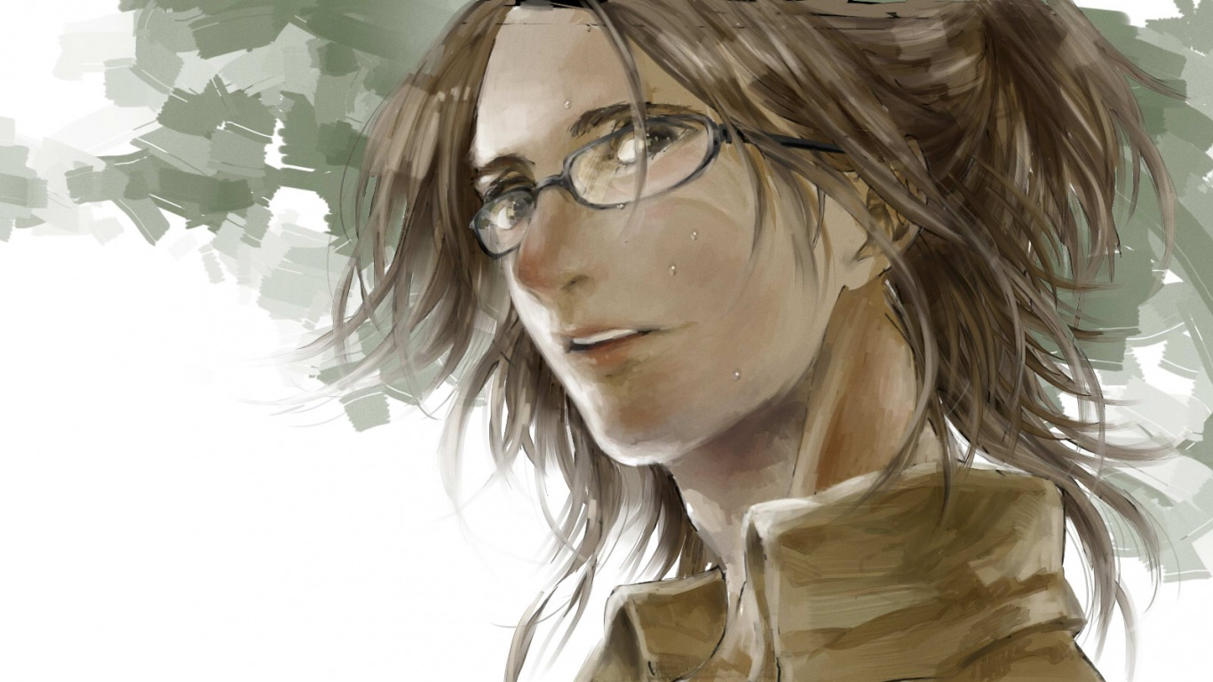 Attack On Titan Wallpaper Zoe Hanji 1366x768 Wallpaper Teahub Io