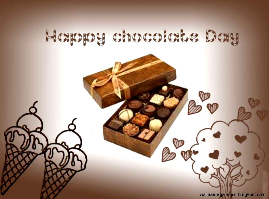 Happy Chocolate Day Wallpapers Hd Images With Wishes 942x698 Wallpaper Teahub Io