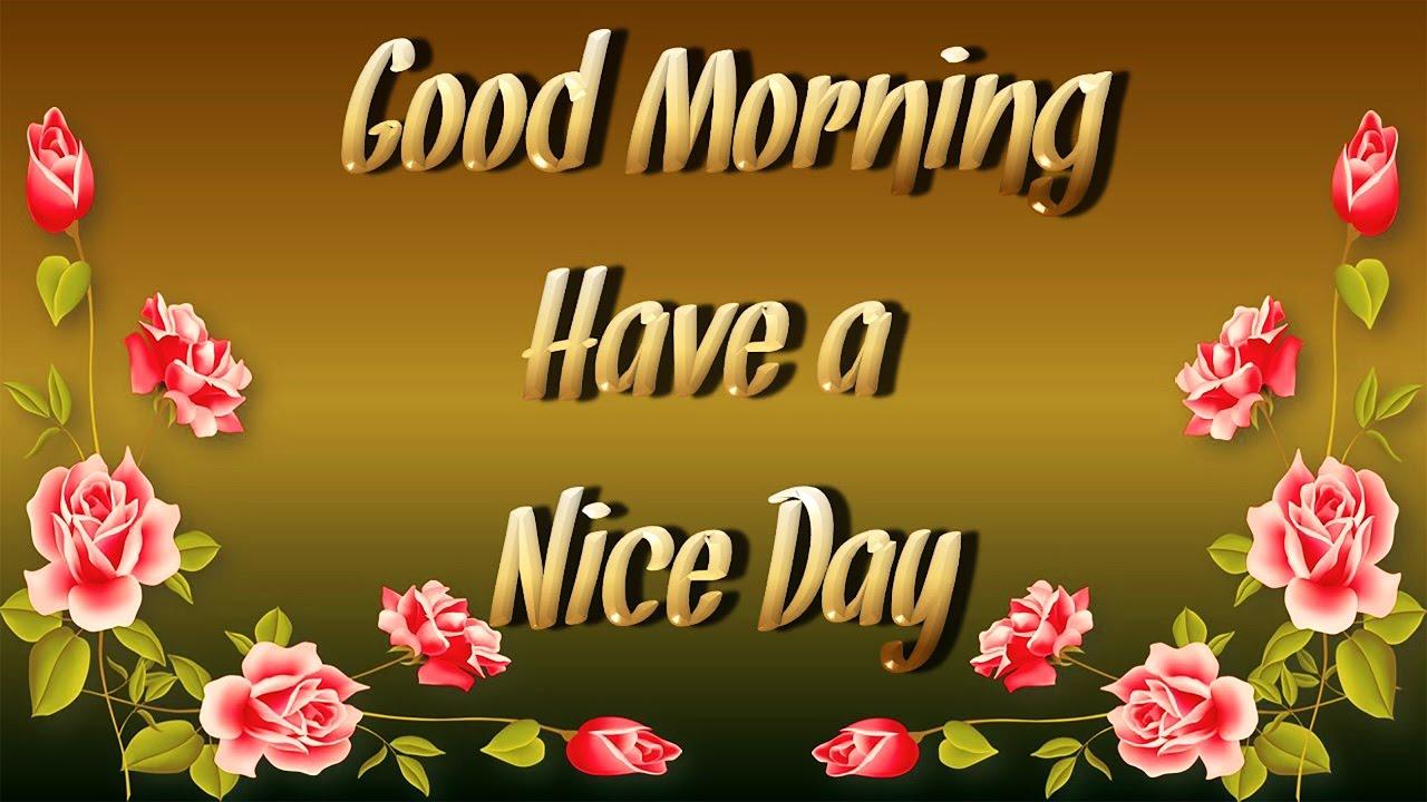 Animated Good Morning Wallpaper Hd - Sweet Cute Good Morning - HD Wallpaper