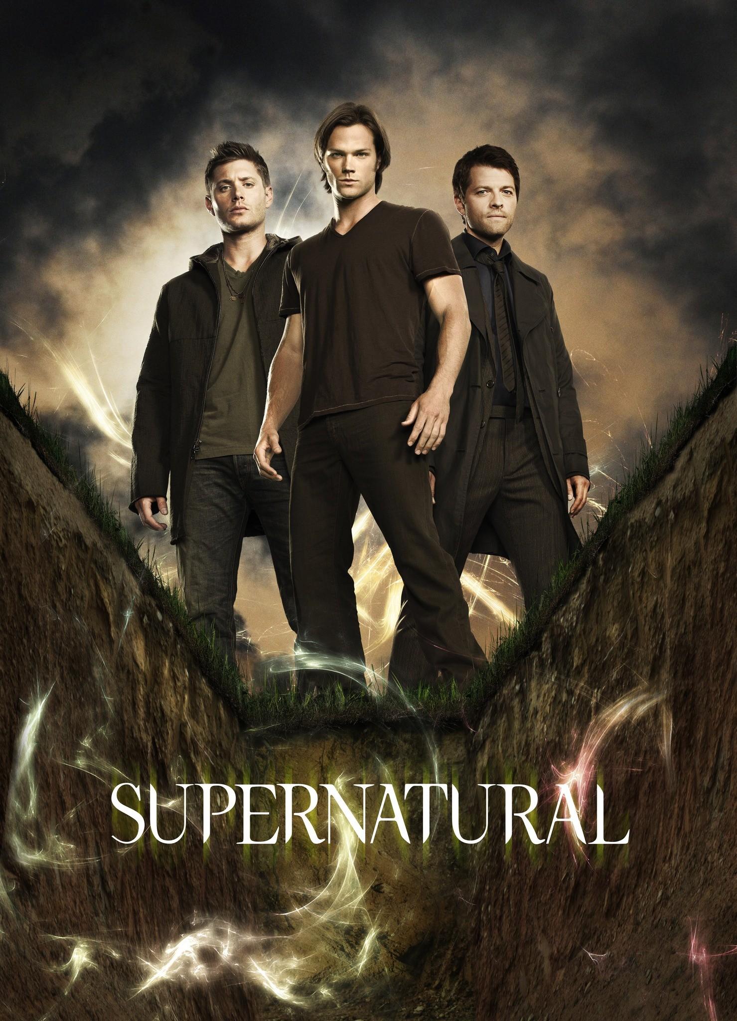 Dean, Castiel, And Sam Images Castiel, Sam, Dean Hd - Supernatural Movie Poster - HD Wallpaper