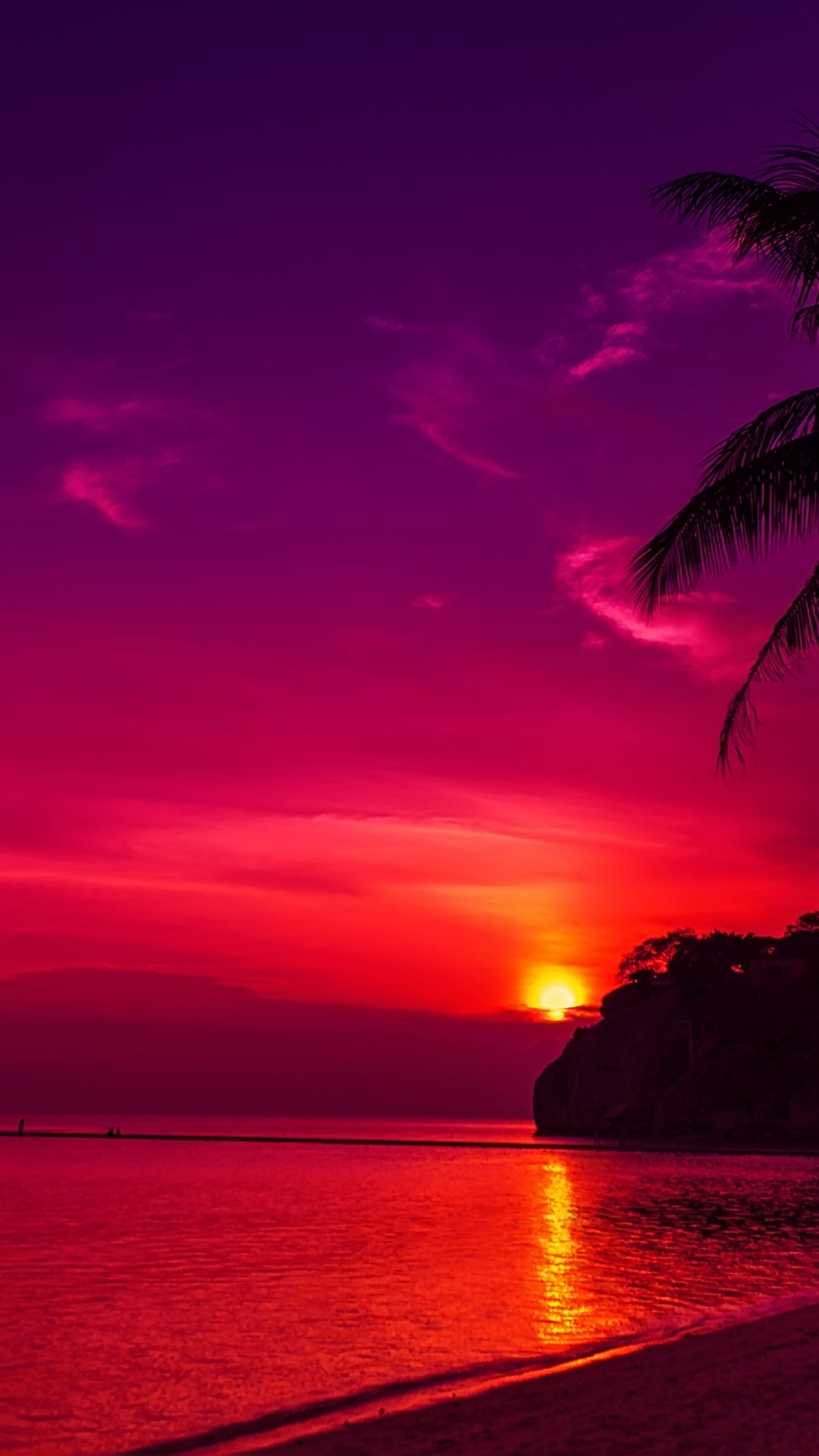 Iphone Wallpaper Hd Sunset With High-resolution Pixel - Hd Phone Background Aesthetic - HD Wallpaper