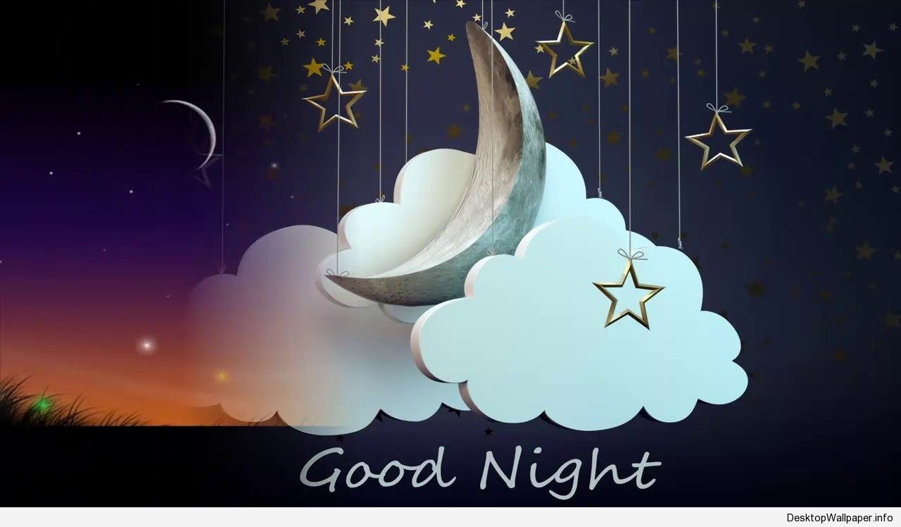 Friend Good Night Quotes - HD Wallpaper