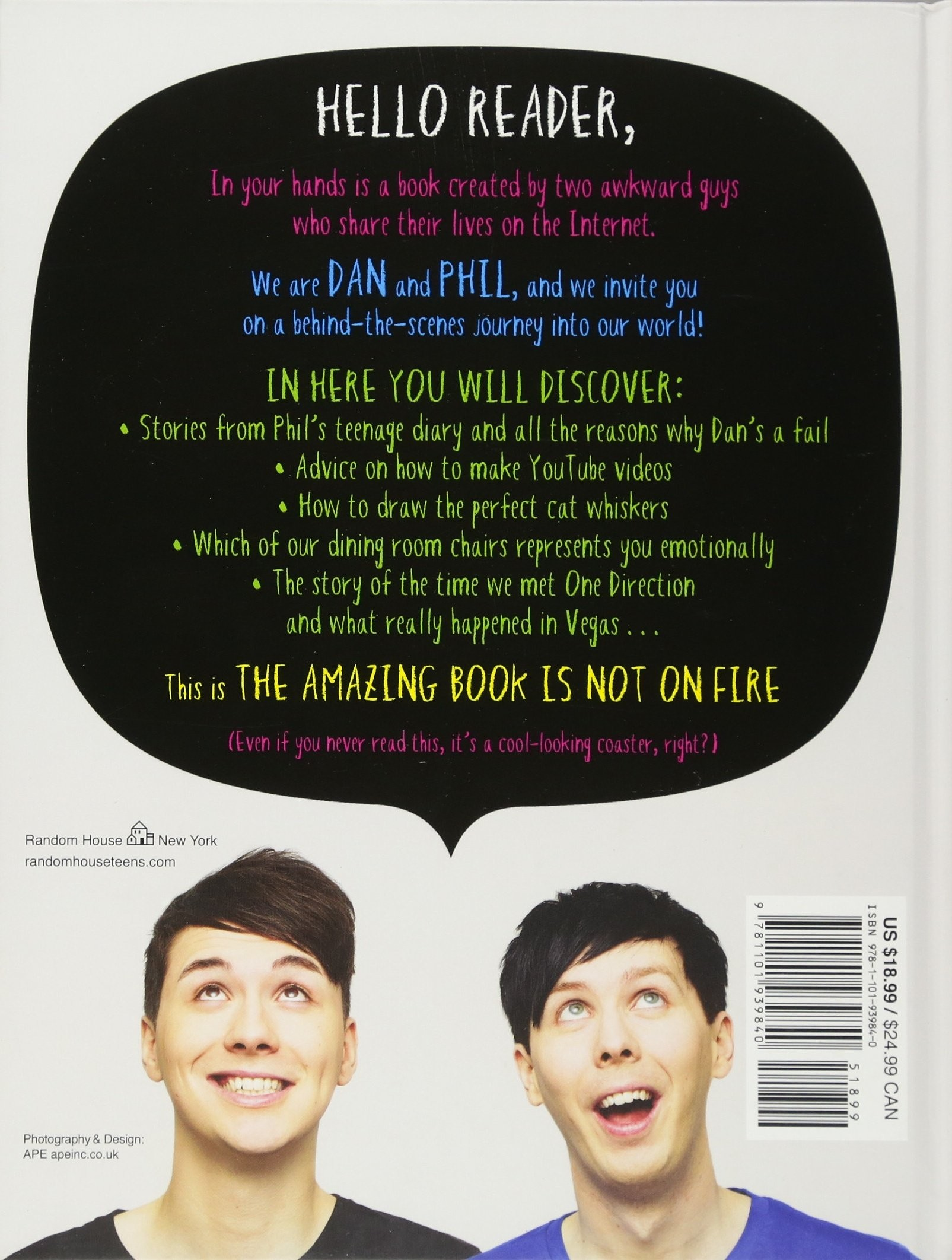 The Amazing Book Is Not On Fire - Aesthetic Dan And Phil Desktop - HD Wallpaper