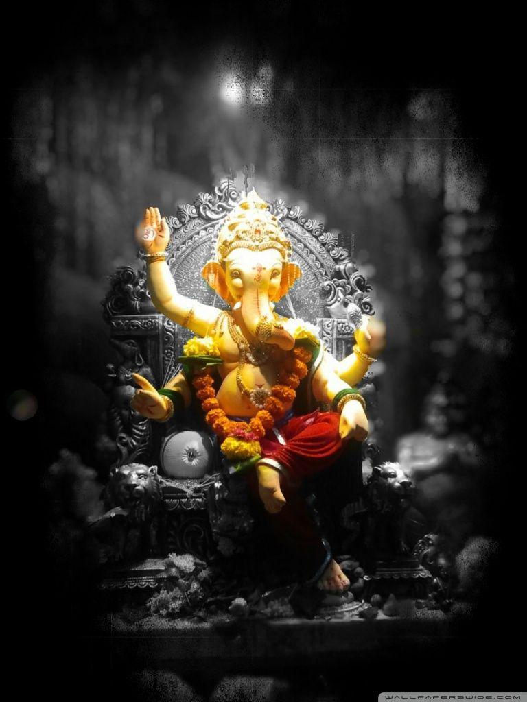 God Vinayagar Hd Wallpaper Beautiful Pics Of Ganesha - Ganesh Chaturthi Quotes - HD Wallpaper