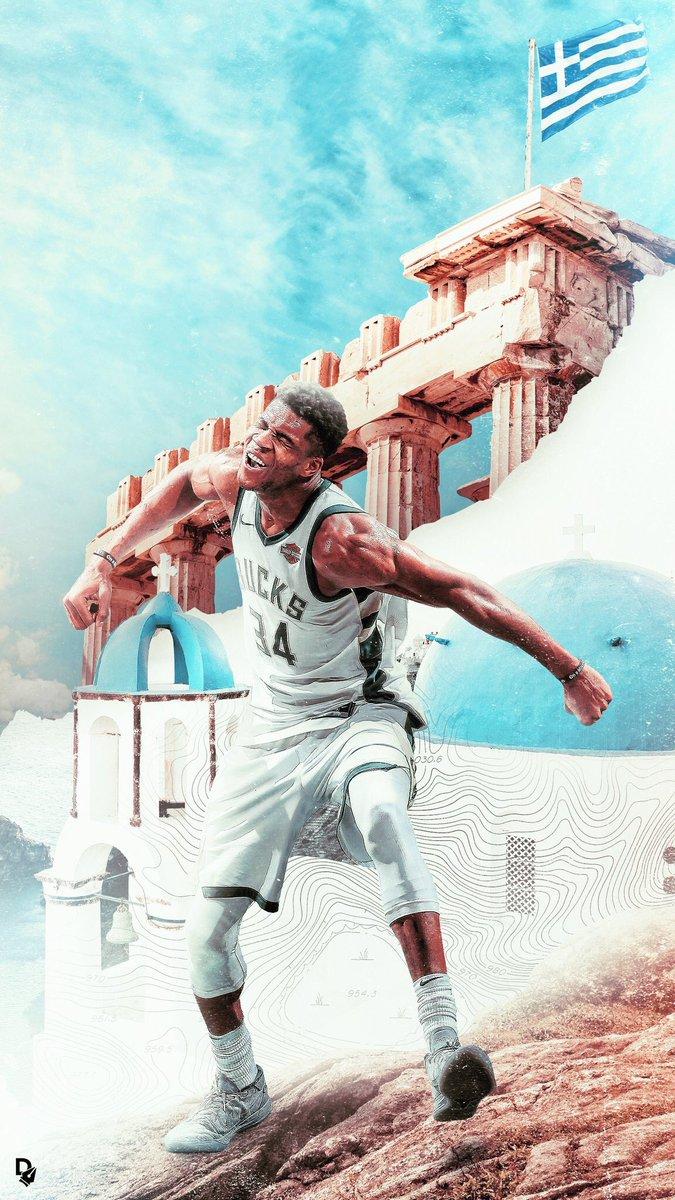 Giannis Antetokounmpo Hellas 675x1200 Wallpaper Teahub Io