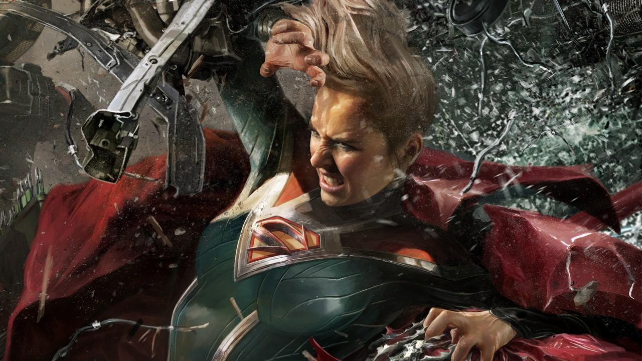 Injustice 2 Supergirl - HD Wallpaper