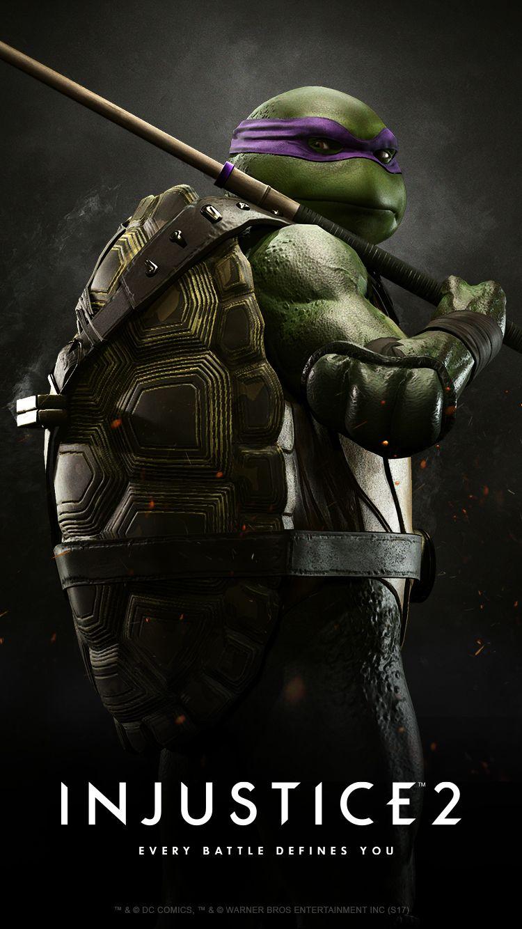 Injustice 2 Teenage Mutant Ninja Turtles - HD Wallpaper