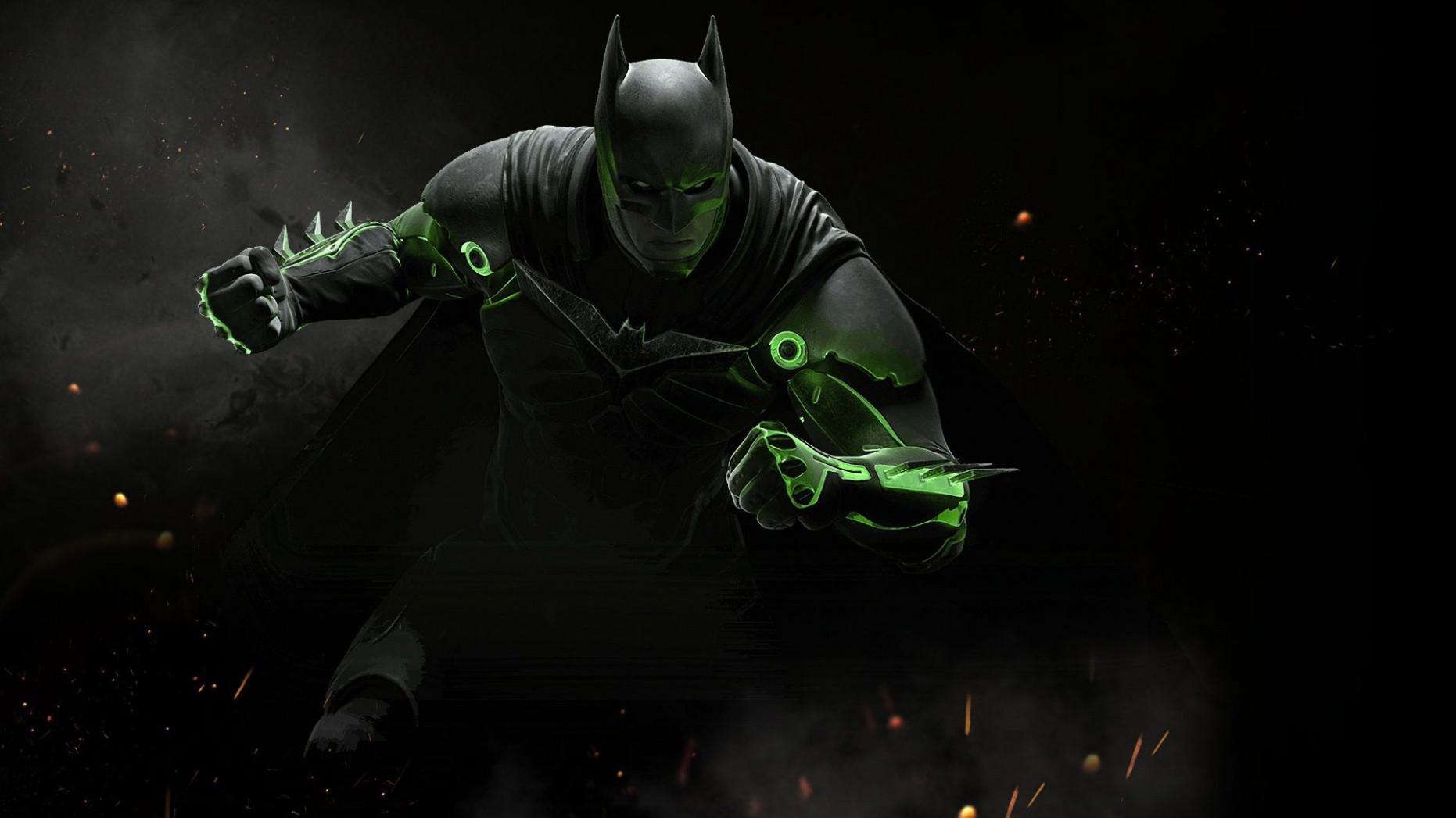 Pin By Hd Wallpapers On Movie Hd Wallpapers In 12 - Injustice 2 Batman Kryptonite Suit - HD Wallpaper