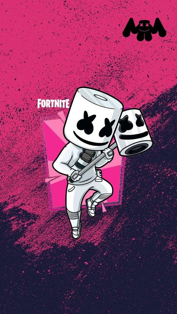 Marshmello Fortnite 564x1002 Wallpaper Teahub Io