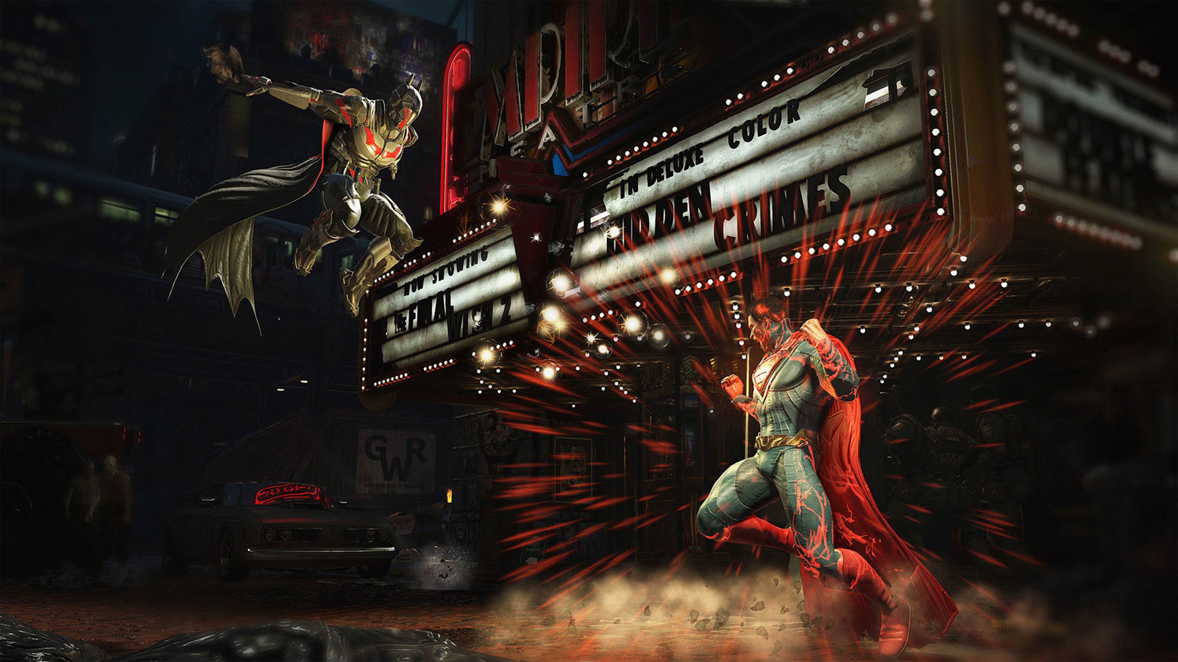 Injustice 2 Fighting - HD Wallpaper