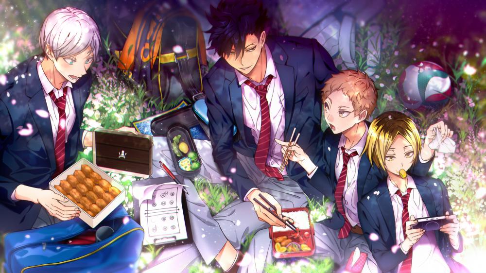 Haikyuu, Tetsurou Kuroo, Kenma Kozumeshoujo, Anime - HD Wallpaper