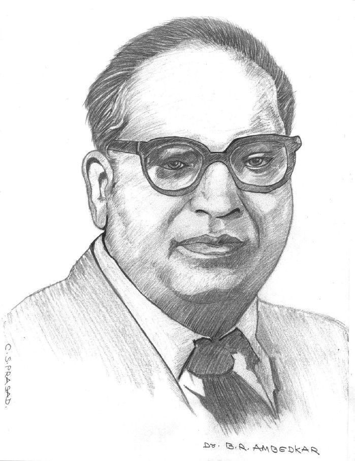 Sketch Of Br Ambedkar 699x909 Wallpaper Teahub Io
