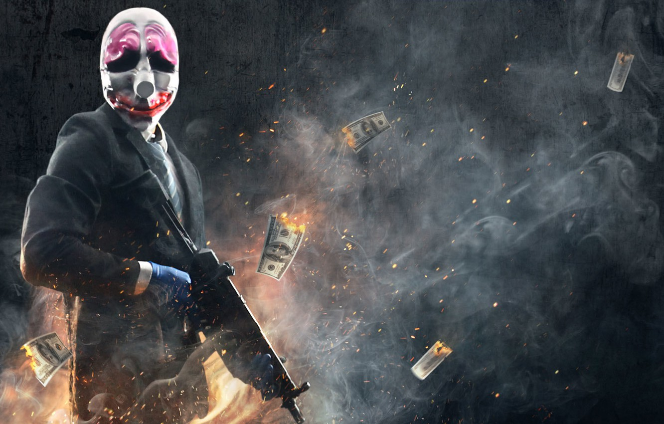 Photo Wallpaper Heist, Payday 2, Hoxton, Payday - HD Wallpaper