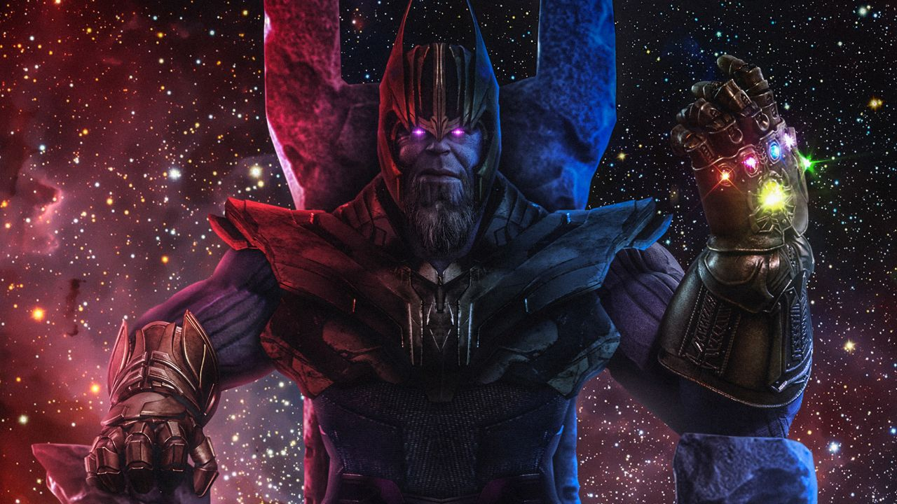 Infinity Gauntlet Thanos 4k 1280x720 Wallpaper Teahub Io