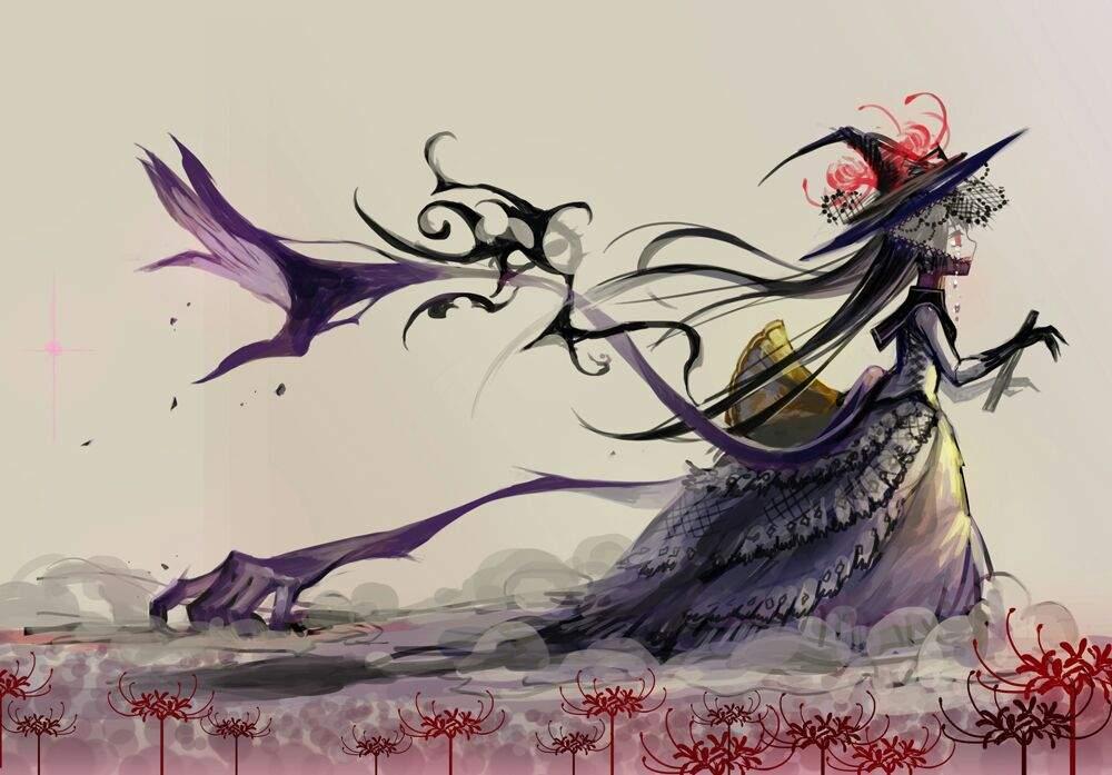 User Uploaded Image Madoka Magica Homura Witch 1000x697 Wallpaper Teahub Io