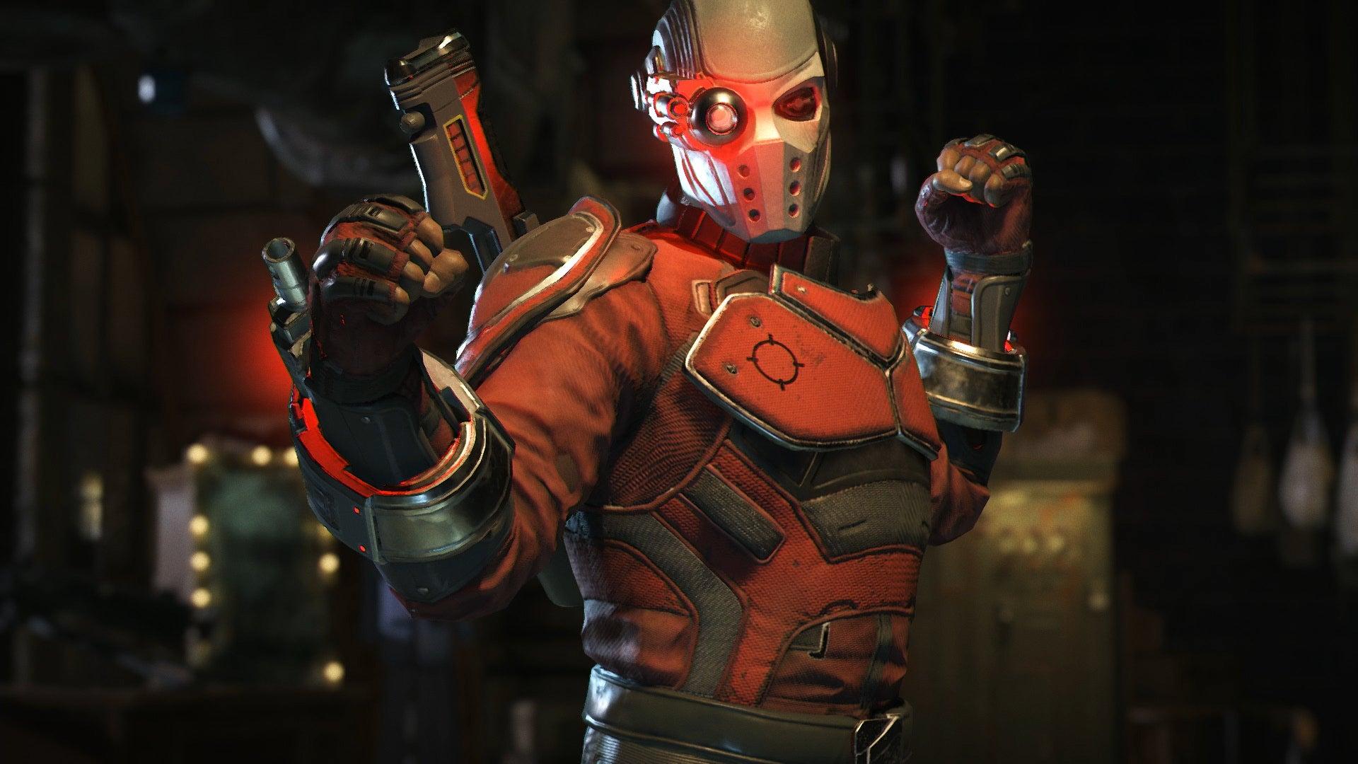 Deadshot Mask Injustice 2 - HD Wallpaper