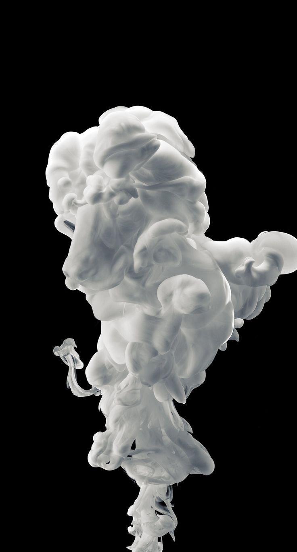 Cool Smoke Wallpaper White 736x1370 Wallpaper Teahub Io