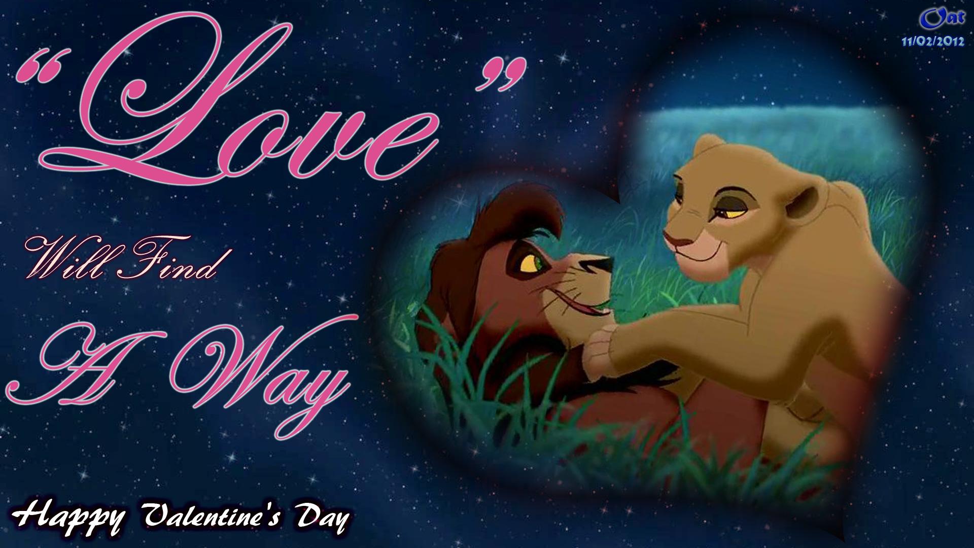 Kovu & Kiara Amor Wallpaper - Lion King Kovu And Kiara Love - HD Wallpaper