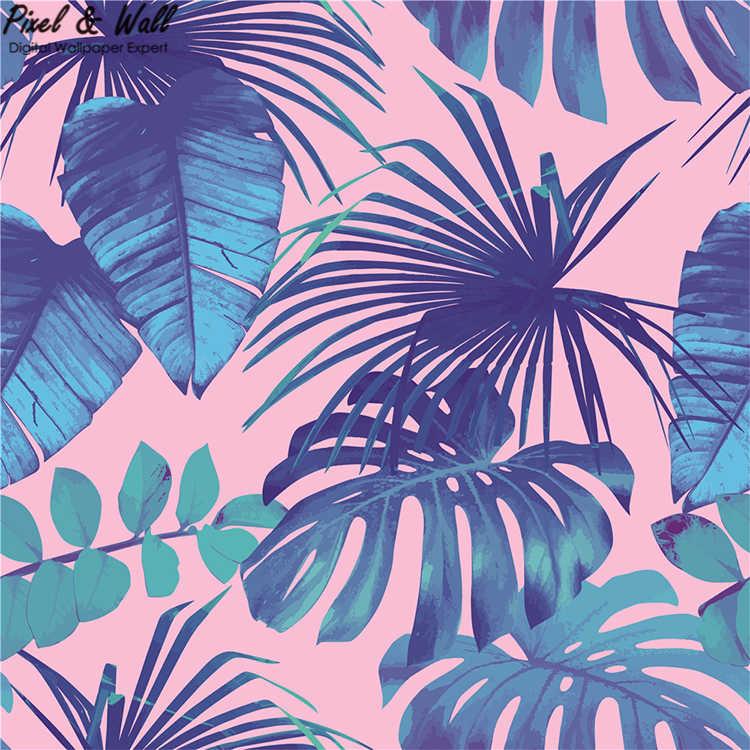 76 762291 berbagai luas daun pisang tropis daun wallpaper untuk