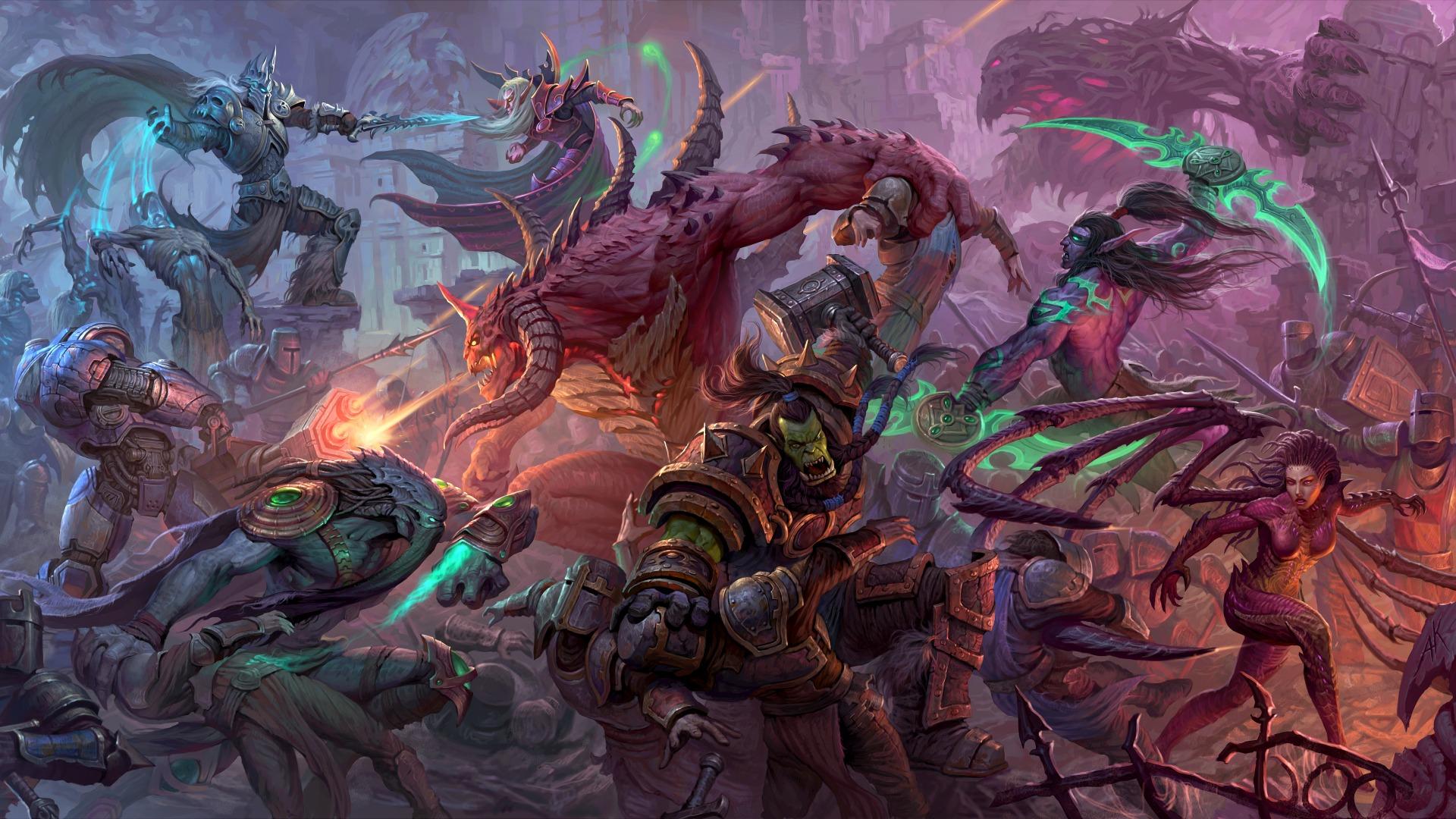Heroes Of The Storm Art Book - HD Wallpaper