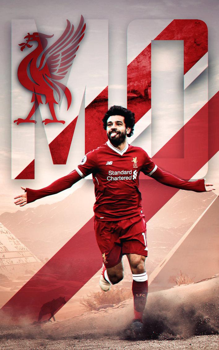 Mohamed Salah Wallpaper Hd-7 - Mohamed Salah Wallpaper Liverpool - HD Wallpaper