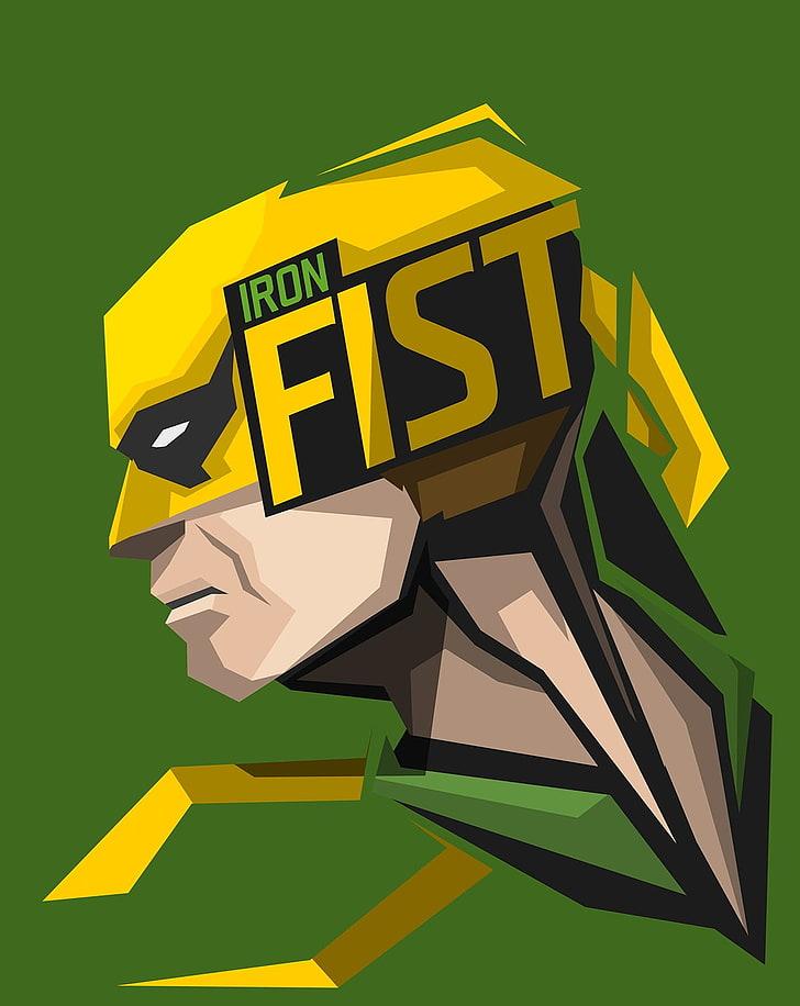 Iron Fist Wallpaper Hd Phone - HD Wallpaper