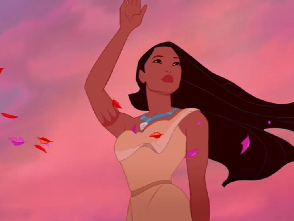 Pocahontas Farewell - Cartoon Profile Picture Pocahontas - HD Wallpaper