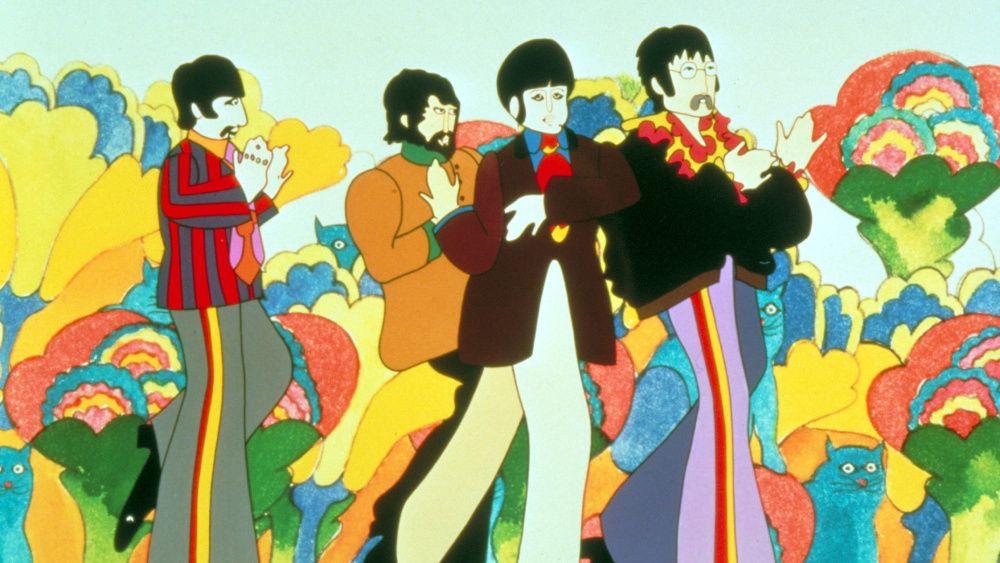Catch The New The Yellow Wallpaper Analysis - Beatles Yellow Submarine Movie - HD Wallpaper