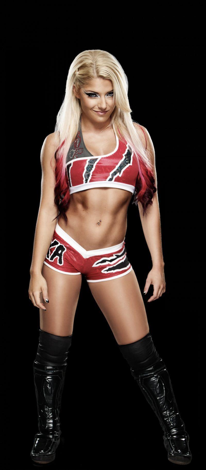 Bliss body alexa WWE Raw