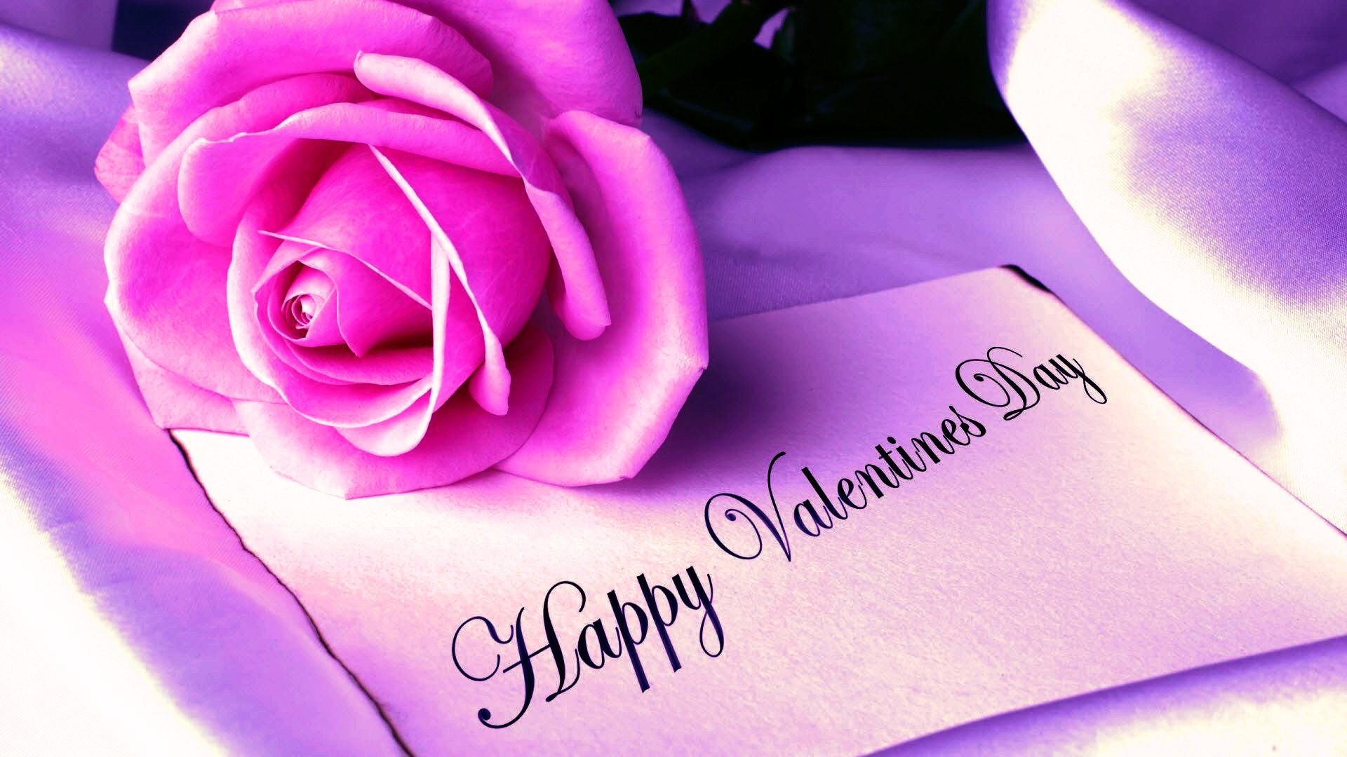 Happy Rose Day Wallpaper Hd - Cute Happy Valentines Day - HD Wallpaper
