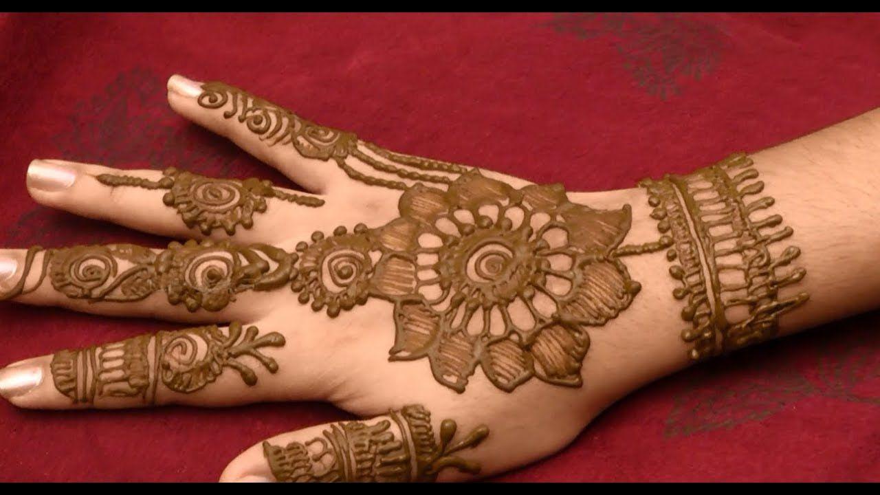 Marwadi Bridal Mehandi Designs Hands Full Hand Front Easy Mehandi Designs 1280x720 Wallpaper Teahub Io