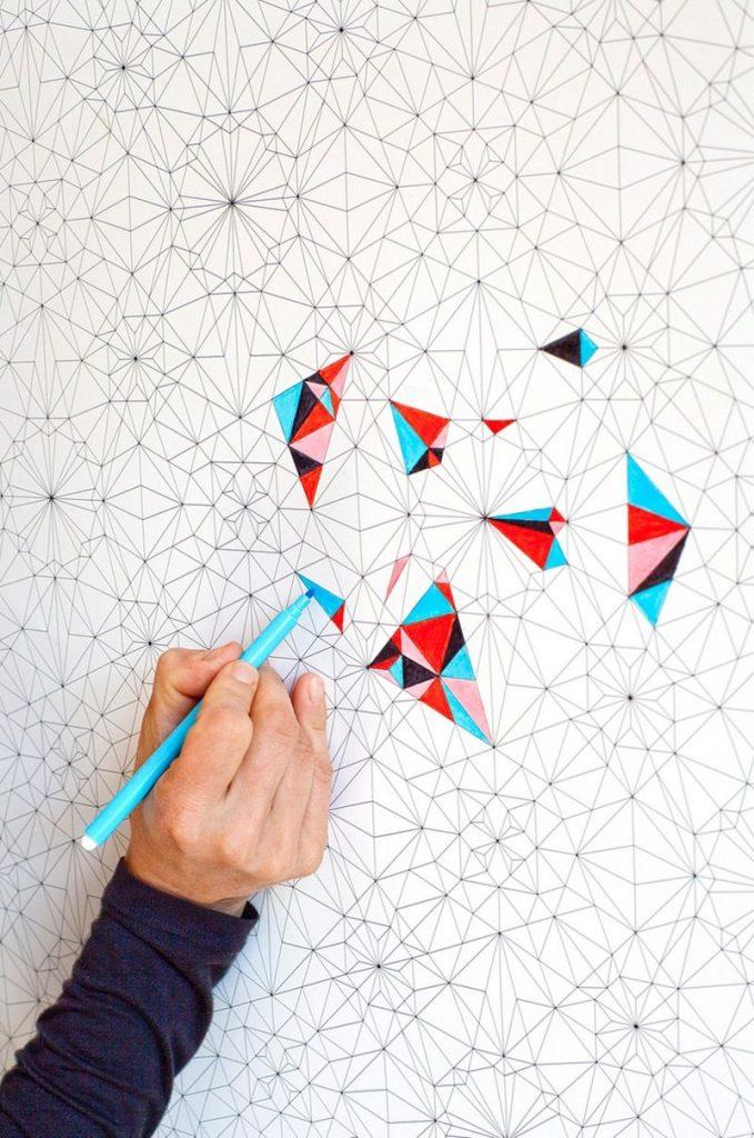 Best Coloring Book Wallpaper Album Iphone Colouring - Papier Peint A Colorier - HD Wallpaper