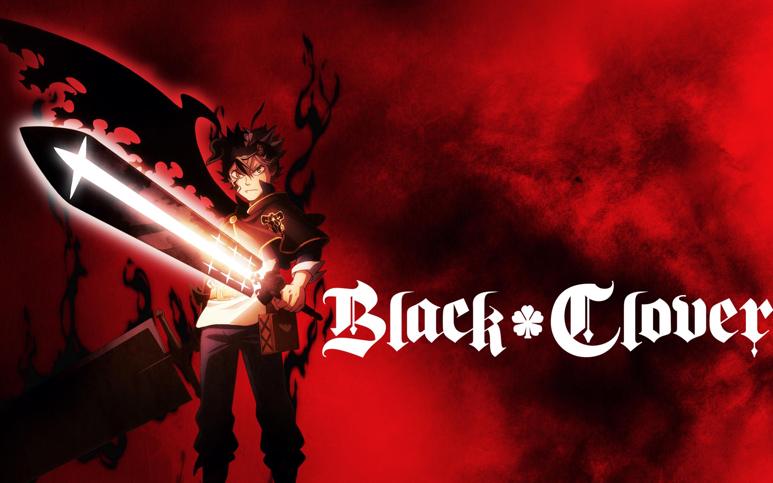 Wallpaper Of Asta, Black Clover, Anime, Sword, Demon ...