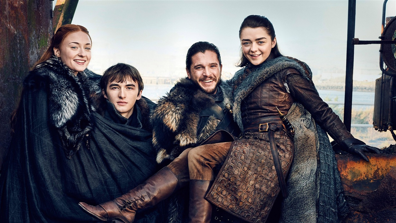 Starks Juego De Tronos Temporada 7-2017 Película Hd - Game Of Thrones Season 8 Starks - HD Wallpaper
