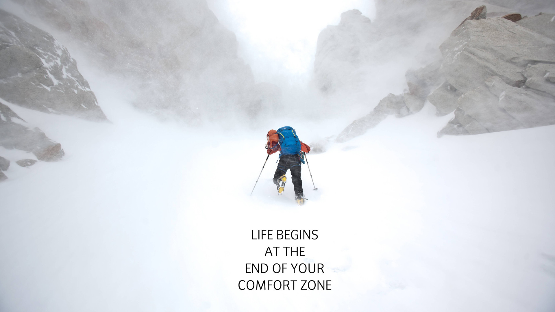 36 Stocks At Hiking Wallpapers Group   Data Src Widescreen - Life Begins At The End Of Your Comfort Zone - HD Wallpaper