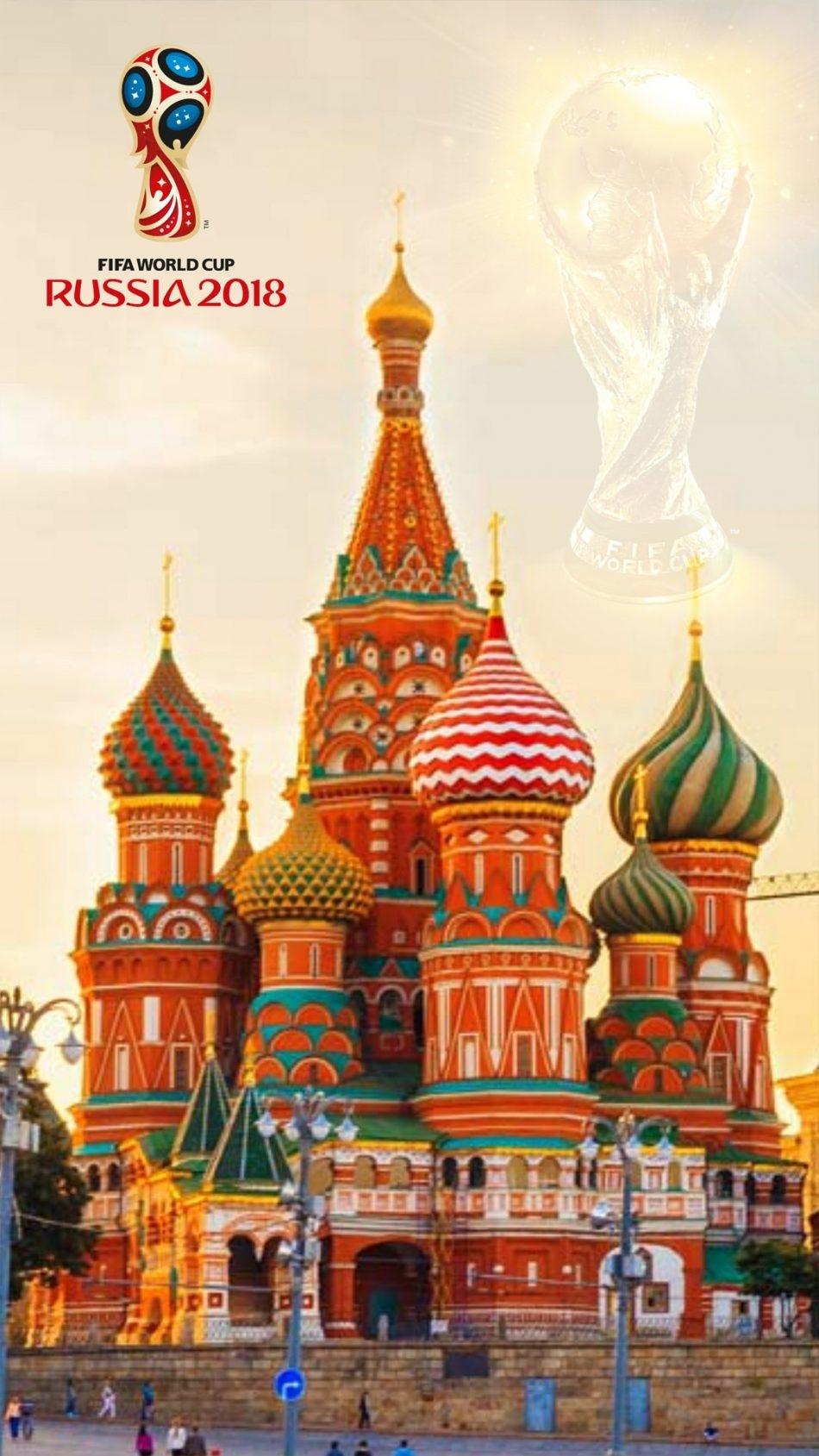 Fifa World Cup 2018 Hd Wallpapers - Saint Basil's Cathedral - HD Wallpaper