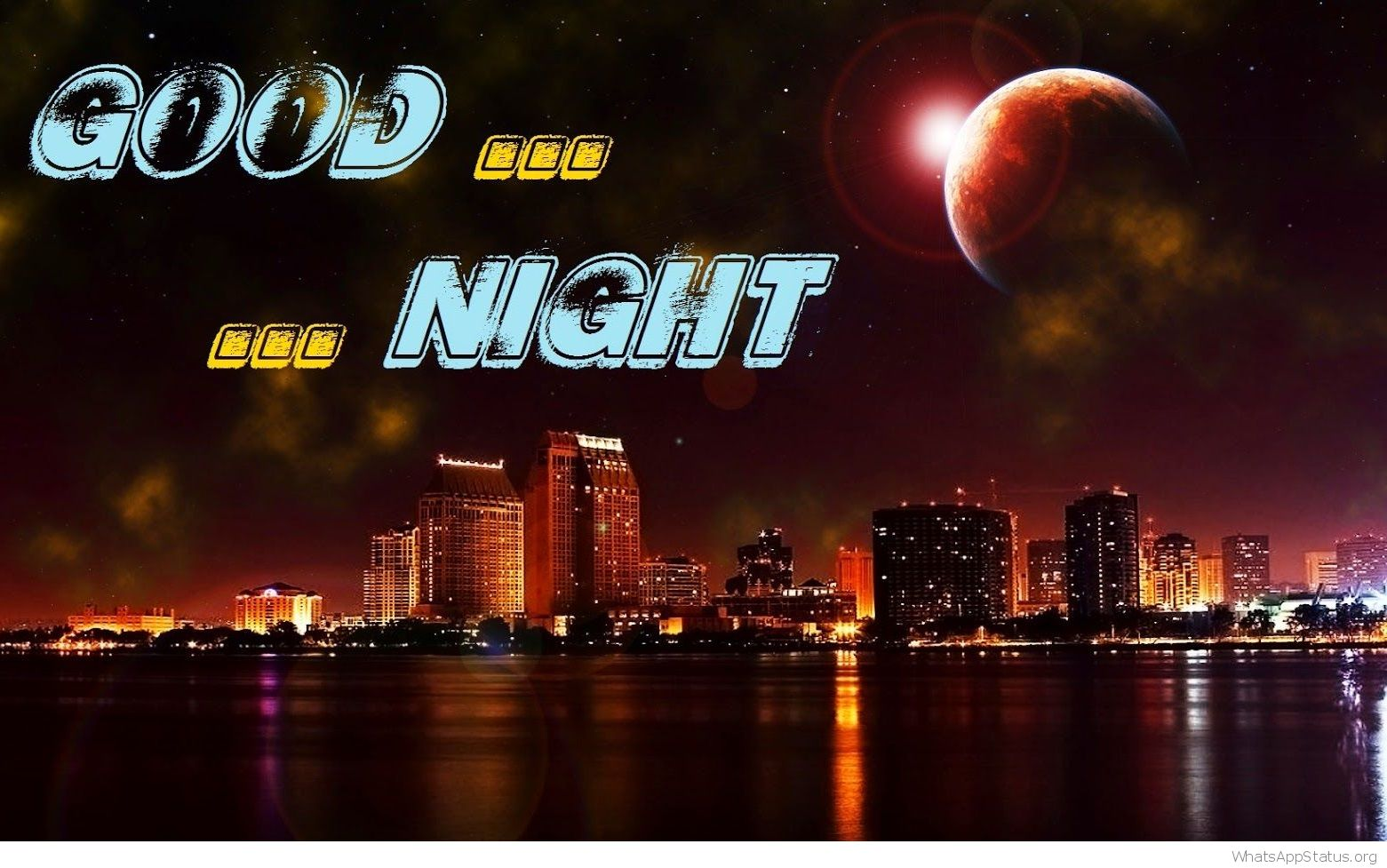 Most Beautiful Good Night Wallpapers - Good Night Hd 3d - HD Wallpaper