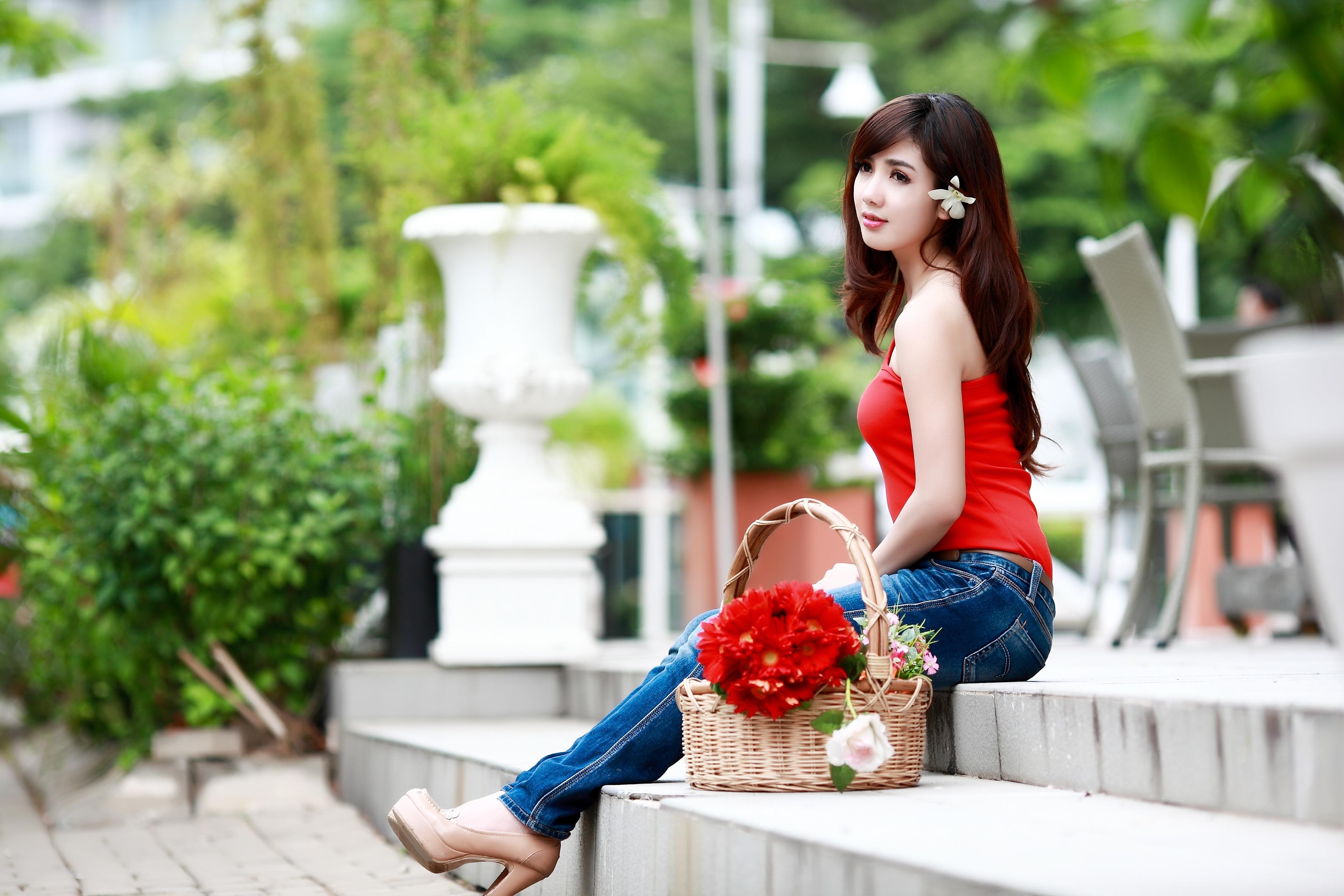 Beautiful Girl 4k Ultra Hd Wallpaper Full - HD Wallpaper