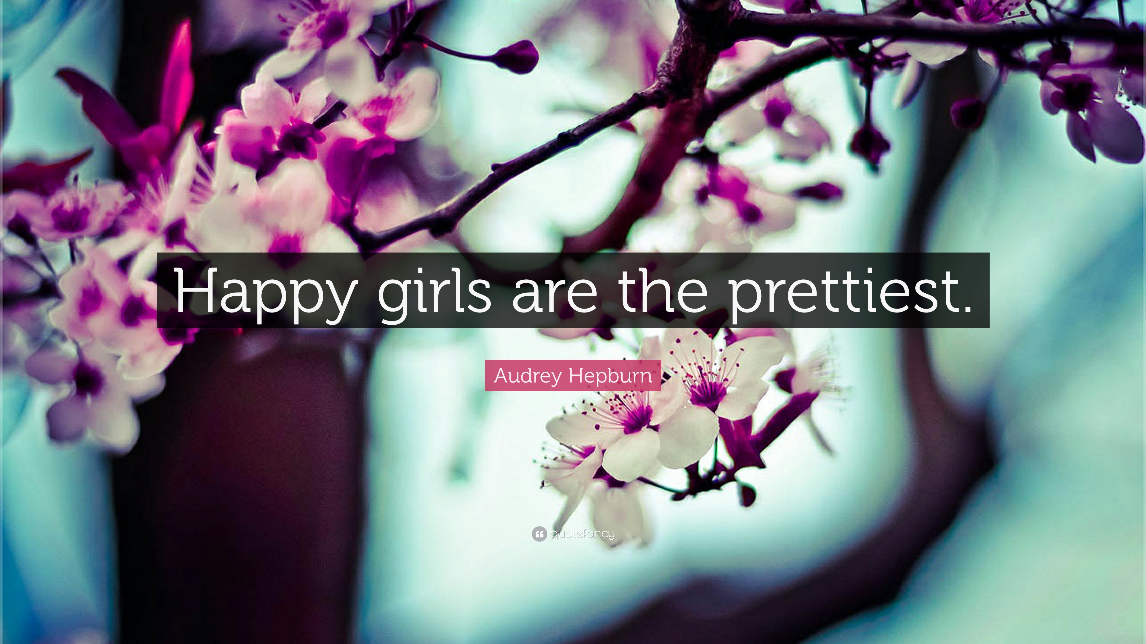 Audrey Hepburn Quote - If You Have Only One Smile - HD Wallpaper